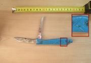 Нож складной Рыбка,  СССР,  2-х предметный.